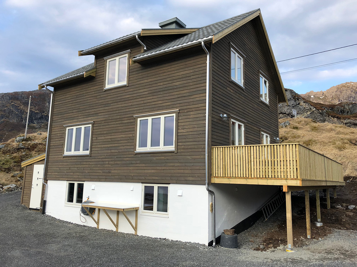 Cabin 08. Huset (Kåkern)